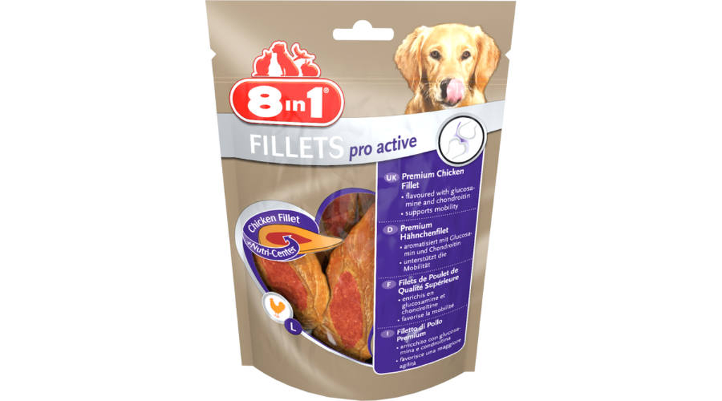 8in1 Fillets Pro Active jutalomfalat